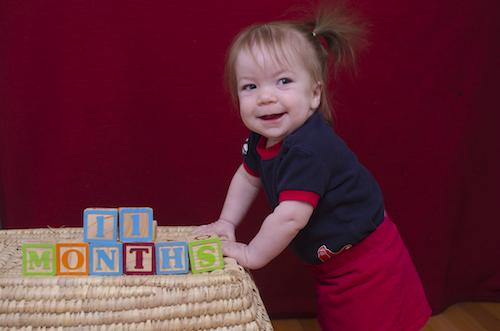 11 months - maggie